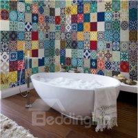 Multitudinous Creative Square Flower Plaid Pattern ...