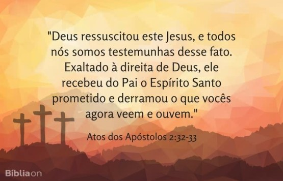 Atos dos Apóstolos 2:32-33