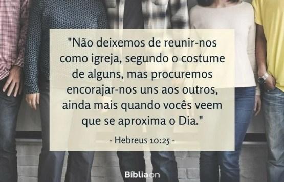 Hebreus 10:25