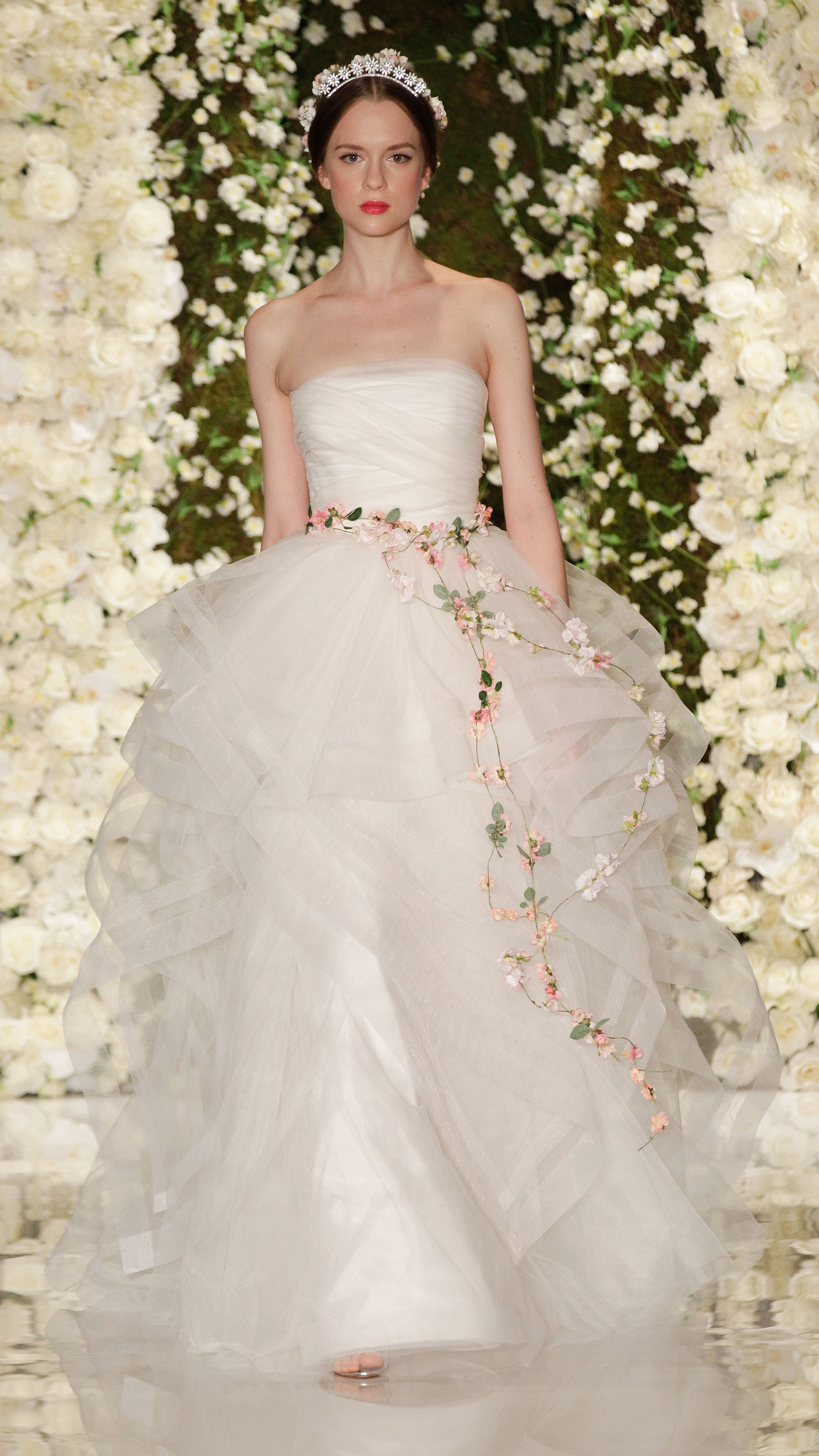 The most beautiful wedding gowns from Fall 2015 Bridal  AOL Lifestyle