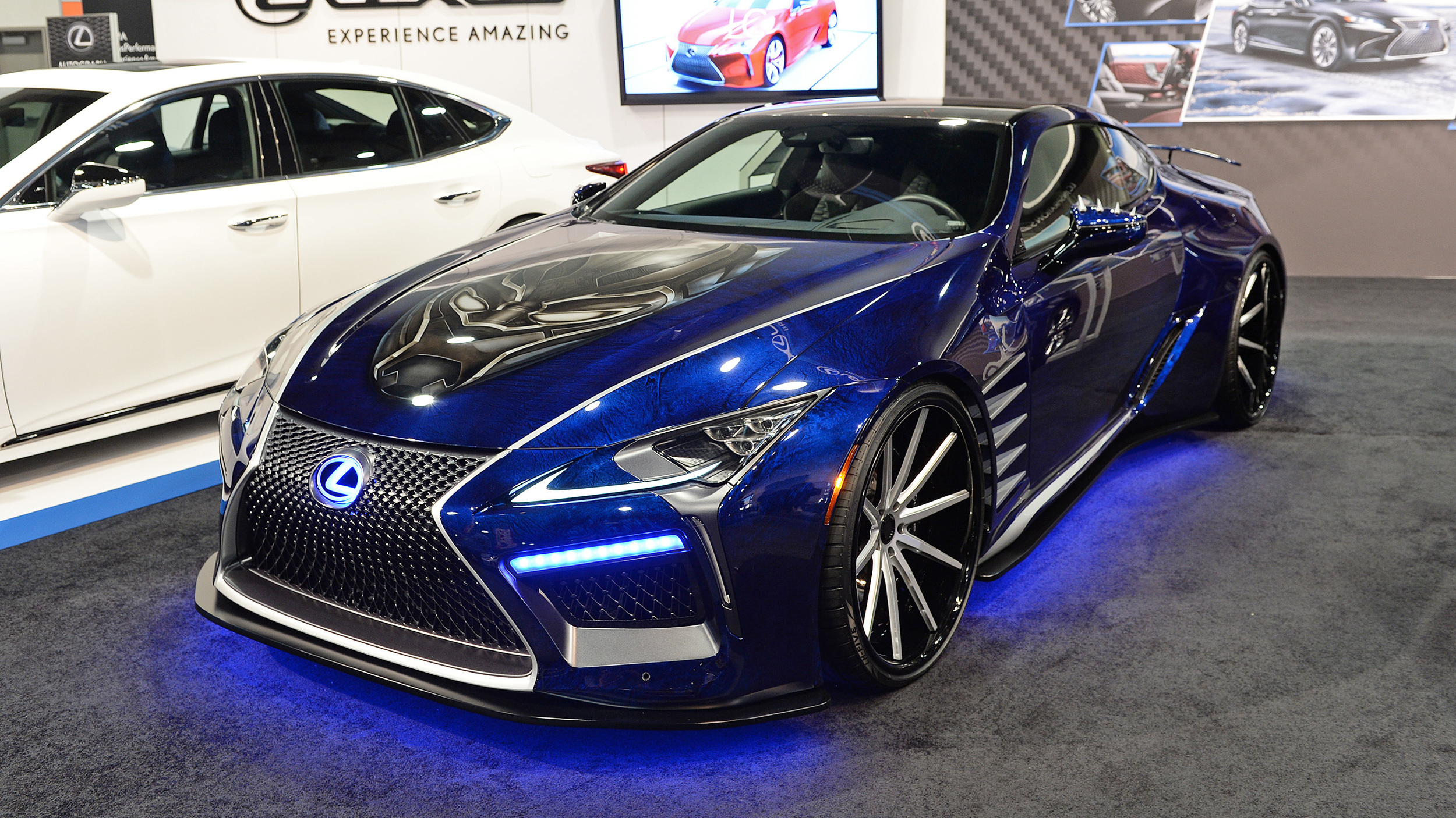 Lexus Black Panther Inspired LC Concept SEMA 2017 Gallery