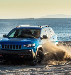 2019 jeep cherokee is a truck like crossover with advantages off road but issues on road autoblog [ 2500 x 1406 Pixel ]