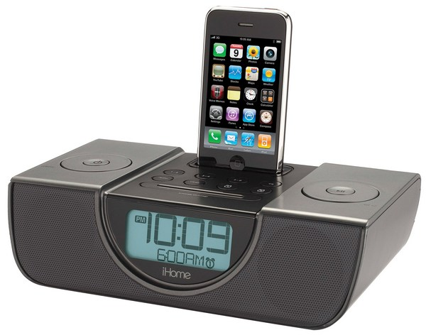 iHomes new clock radios will ensure neither you nor your