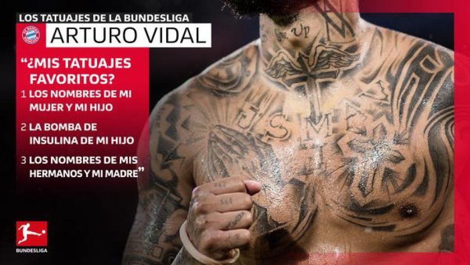Bundesliga Los Tatuajes De Arturo Vidal Su Vida Y Valores En Tinta