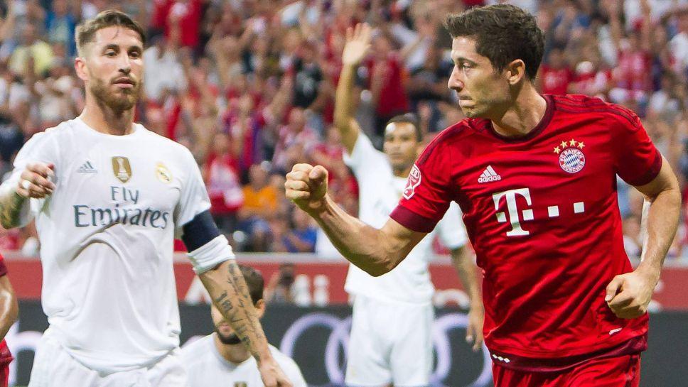 Bundesliga | Bayern Munich versus Real Madrid: Robert Lewandowski ...