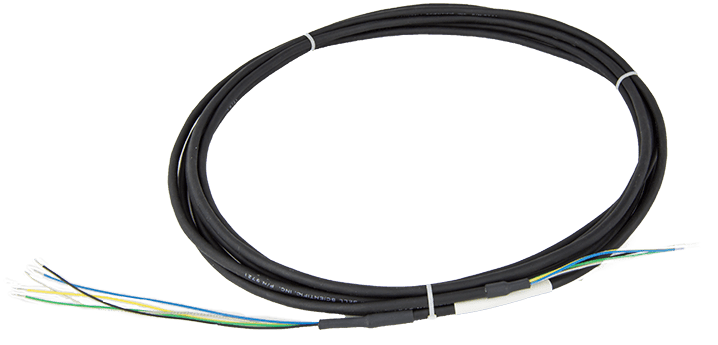 CABLE3TP-L: 24 AWG, 3-Twisted Pair Cable with Drain