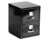 Mini Business Card 15cm Filing Cabinet - Black | Catch.com.au