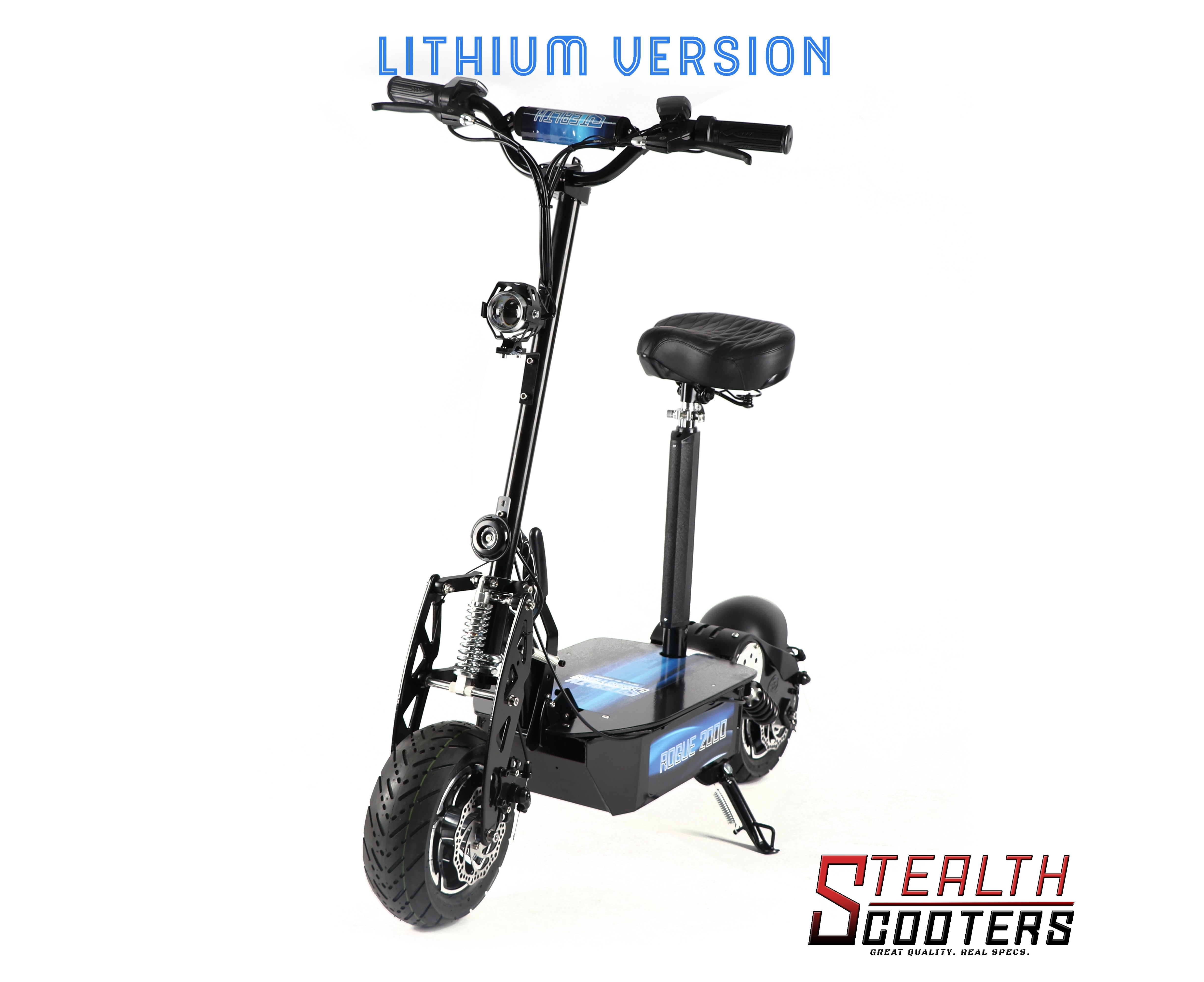 Stealth Scooters Rogue W 60v 12ah Lithium Electric