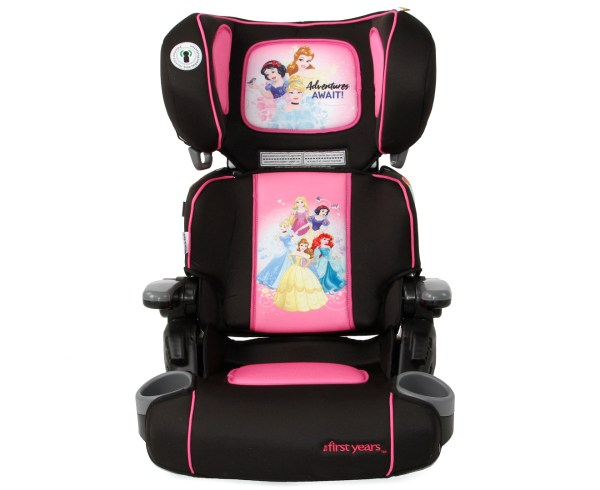 Years Disney Princess Foldable Booster Seat - Blue Pink
