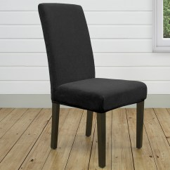 Sure Fit Dining Chair Covers Australia Neutral Posture Nps8600 Stretch Cover Ebony Catch Au