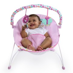 Baby Chair That Vibrates Dining Room Covers On Sale Bright Starts Fanciful Flowers Vibrating Bouncer Multi