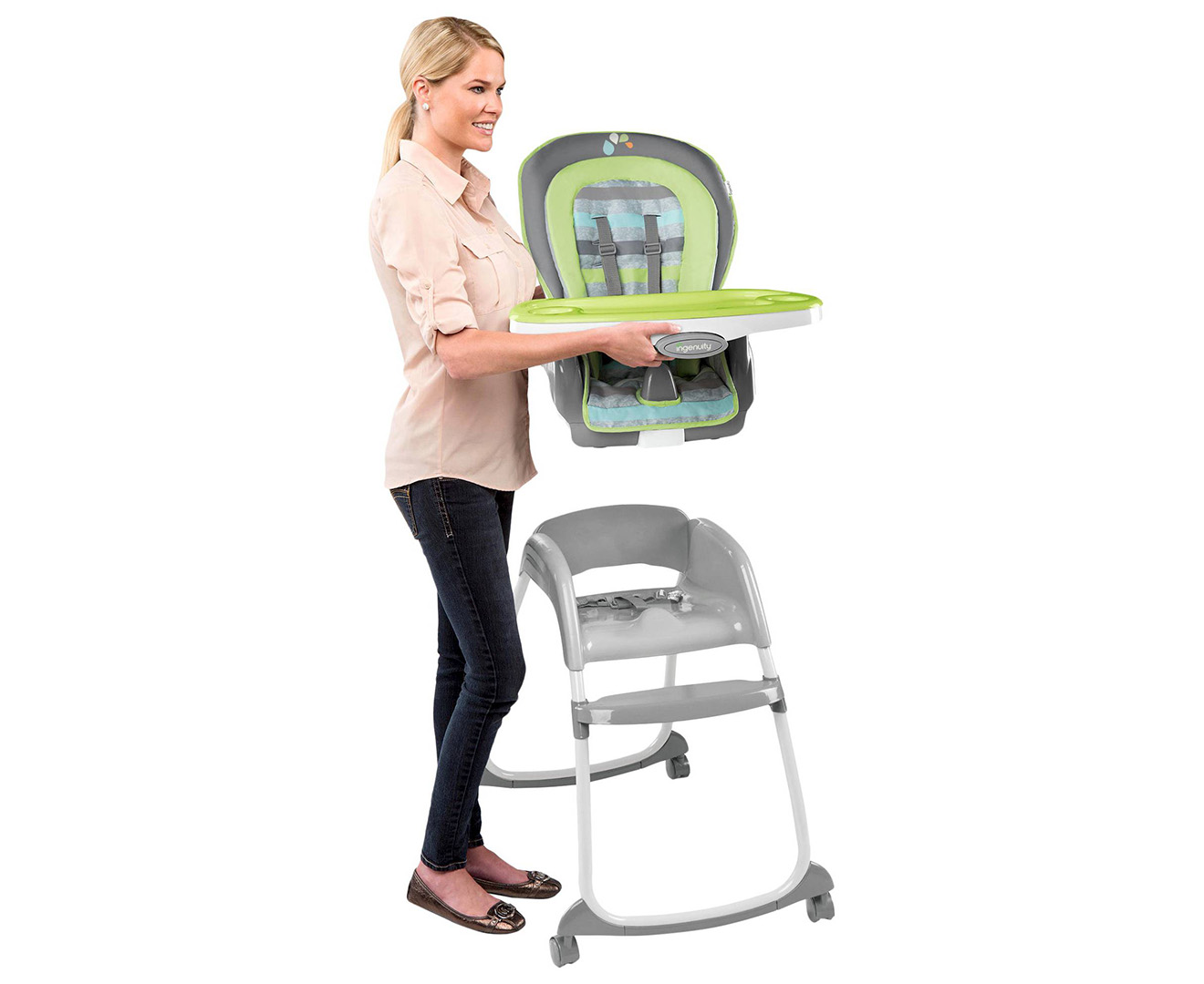 High Chair Deals Ingenuity Trio 3 In 1 Deluxe High Chair Multi Great