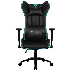X3 Office Chair Used Broda Thunderx3 Uc5 Hex Rgb Lighting Gaming Black Cyan