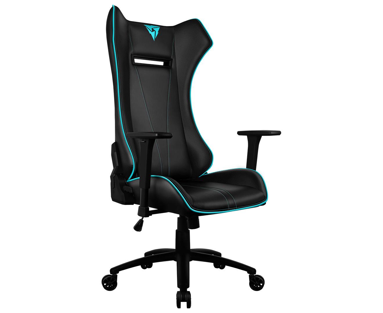 office chair rowing east coast and barstool reviews thunderx3 uc5 hex rgb lighting gaming black cyan