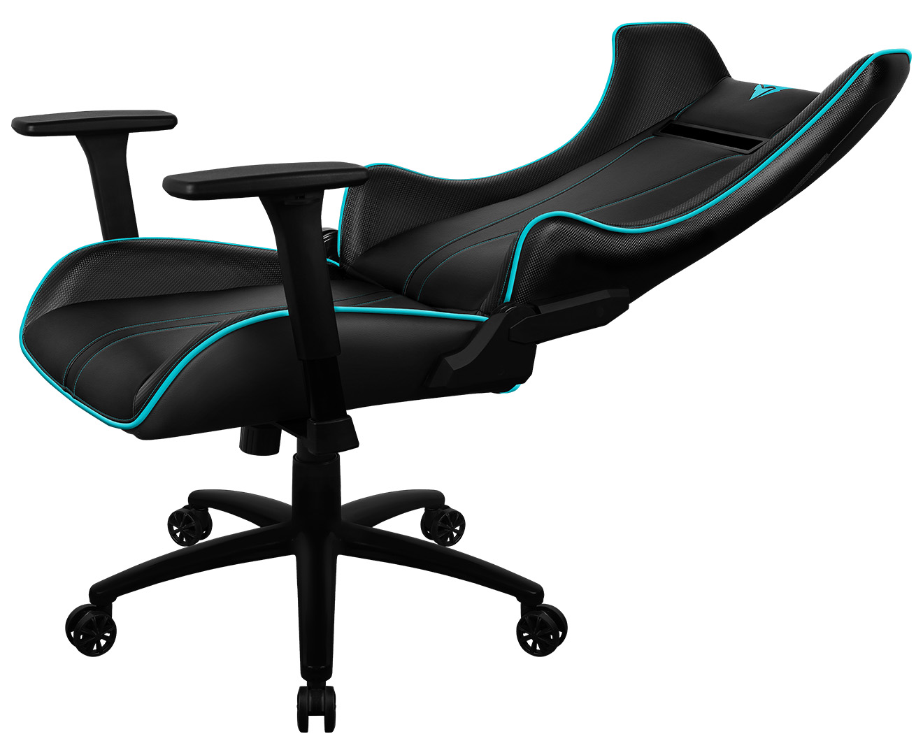 x3 office chair wooden garden chairs b q thunderx3 uc5 hex rgb lighting gaming black cyan