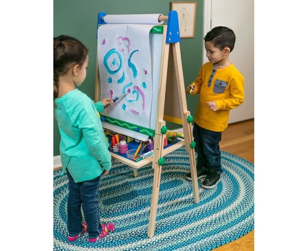 Crayola Kids' Double Sided Wooden Art Easel