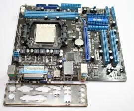 Placa de baza ASUS M4N68T-M LE V2. AM3. DDR3