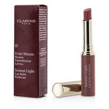Clarins Eclat Minute Instant Light Lip Balm Perfector - # 01 Rose 1.8g/0.06oz