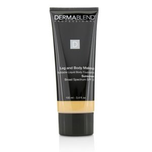 Dermablend Leg and Body Make Up Buildable Liquid Body Foundation Sunscreen Broad Spectrum SPF 25 - #Light Natural 20N 100ml/3.4oz
