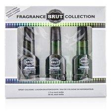 Faberge Brut Eau De Cologne Spray (Special Reserve Edition) 3x30ml/1oz