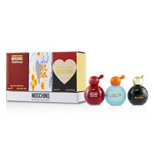 Moschino Cheap & Chic Coffret: Classic Eau De Toilette + I Love Love Eau De Toilette + Chic Petals Eau De Toilette 3x4.9ml/0.16oz