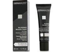 Dermablend Blurring Mousse Camo Oil Free Foundation SPF 25 (Medium Coverage) - #0C Ivory (Exp. Date 10/2019) 30ml/1oz