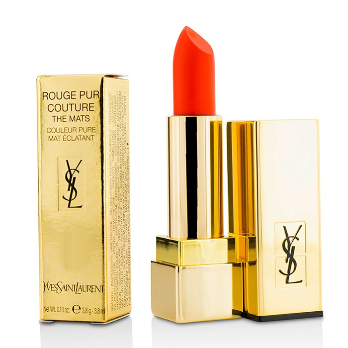 Yves Saint Laurent Rouge PUR Couture The Mats 220 Crazy Tangerine | eBay