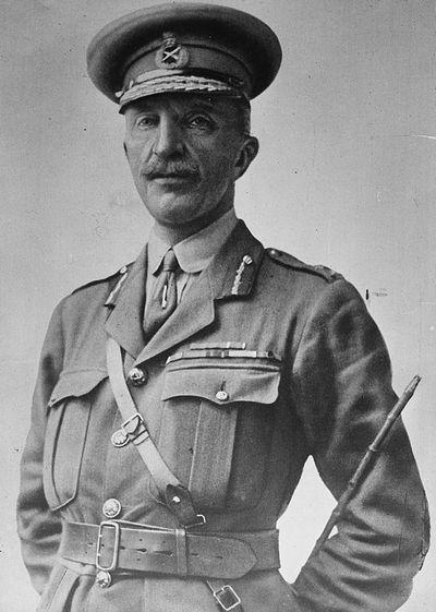 Marszałek Henry Wilson był autentycznie zszokowany postawą brytyjskiego premiera (domena publiczna).