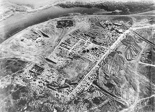 Wykopaliska na terenie chazarskiej twierdzy Sarkel nad dolnym Donem (fot. domena publiczna).