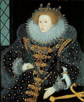 Królowa Elżbieta I była zszokowana zuchwałością polskiego posła (źródło: domena publiczna).