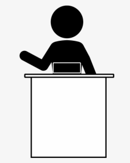 Front Desk Clipart : front, clipart, Receptionist, Background, ClipartKey