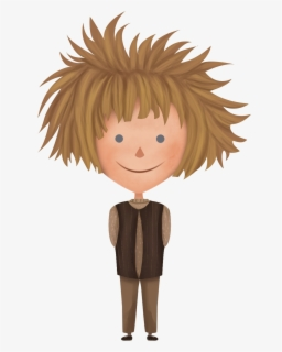 Messy Hair Clipart : messy, clipart, Transparent, Messy, Clipart, ClipartKey