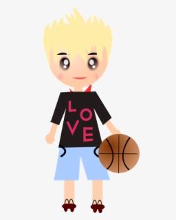 Gambar Bermain Basket Kartun : gambar, bermain, basket, kartun, Gambar, Kartun, Basket, Transparent, Clipart, ClipartKey