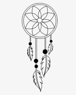 Simple Dream Catcher Drawing : simple, dream, catcher, drawing, Simple, Dream, Catcher, Drawing, Transparent, Clipart, ClipartKey
