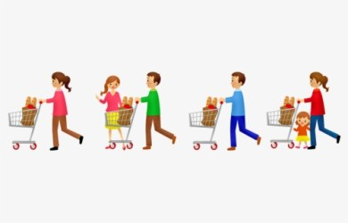 Free Grocery Shopping Clip Art with No Background ClipartKey