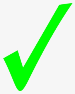 Transparent Green Check Mark : transparent, green, check, Check, Background, ClipartKey