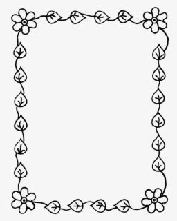 Contoh Bingkai Gambar : contoh, bingkai, gambar, Simple, Flower, Frame, Transparent, Gambar, Bingkai, Kaligrafi, Clipart, ClipartKey