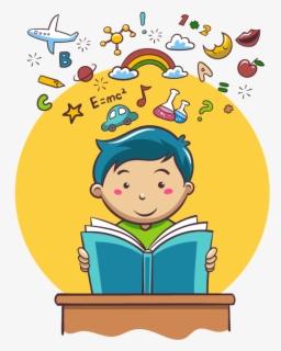Kartun Anak Sekolah Vector PNG JPG | Kartun, Buku gambar...