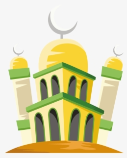 Background Idul Fitri Png : background, fitri, Mosque-vector, Background, Islamic, Fitri, Transparent, Clipart, ClipartKey