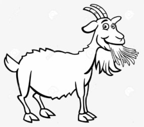 goat clipart farm clipartkey 105kb