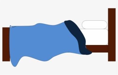 Transparent Cartoon Bed