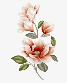 Magnolia Flower Clip Art : magnolia, flower, Magnolia, Background, ClipartKey