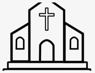 Free Church Building Clip Art with No Background ClipartKey