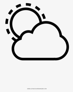 Mewarnai Gambar Awan : mewarnai, gambar, Partly, Cloudy, Coloring, Mewarnai, Gambar, Matahari, Transparent, Clipart, ClipartKey