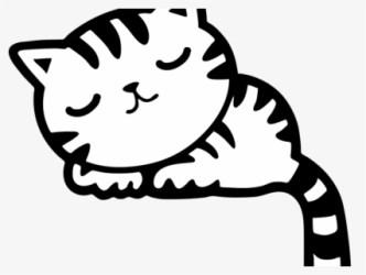 clipart sleep cat sleeping transparent clip clipartkey cartoon