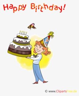 Happy Birthday Funny Animation : happy, birthday, funny, animation, Happy, Birthday, Funny, Background, ClipartKey