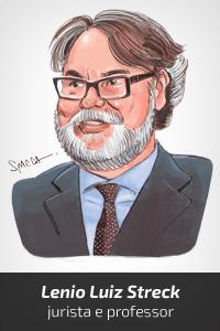 Caricatura Lenio Luiz Streck (nova) [Spacca]