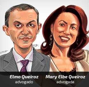 Mary Elbe Queiroz e Elmo Queiroz [Spacca]