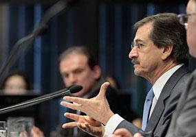 Presidente do CNJ e do STF, Ministro Cezar Peluso, na 106° sessão plenária. - Luiz Silveira/ASCOM/CNJ