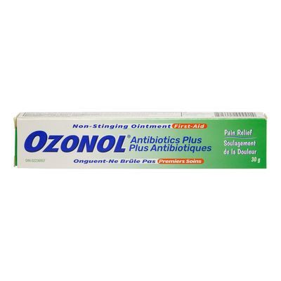 Ozonol Antibiotic Ozonol First Aid Ointment delivery ...